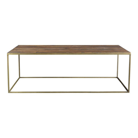 Moes Home Meadow Coffee Table in Natural