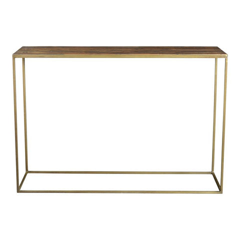 Moes Home Meadow Console Table in Natural
