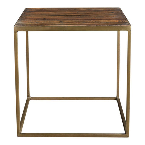 Moes Home Meadow Side Table in Natural