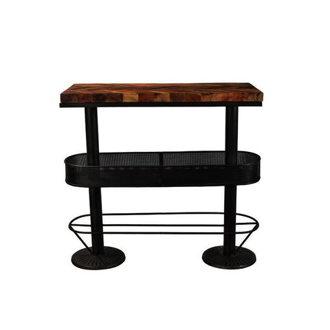 Moes Home Morrissey Bar Table in Black
