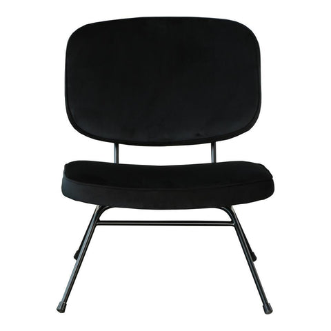 Moes Home Niro Accent Chair in Black