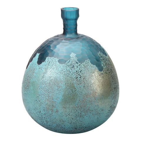 Moes Home Nix Vase Blue