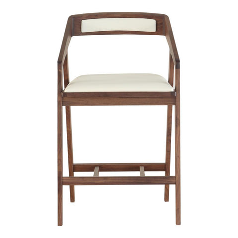 Moes Home Padma Counter Stool in Cream White