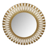 Moes Home Radiate Mirror Gold in Gold