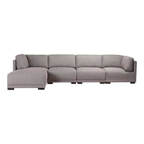 Moes Home Romeo Modular Sectional Left Grey