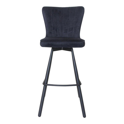 Moes Home Sonnet Barstool in Sky Blue