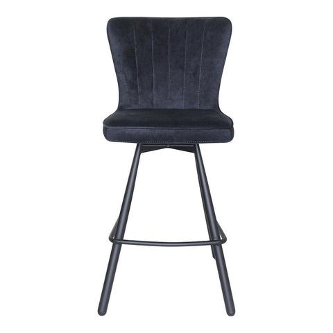 Moes Home Sonnet Counter Stool in Sky Blue
