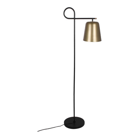 Moes Home Sticks Floor Lamp in Anitque Brass