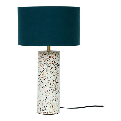 Moes Home Terrazzo Cylinder Table Lamp