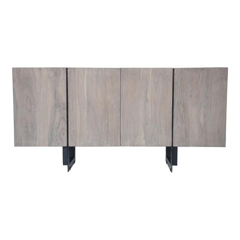 Moes Home Tiburon Sideboard Small in Light Grey