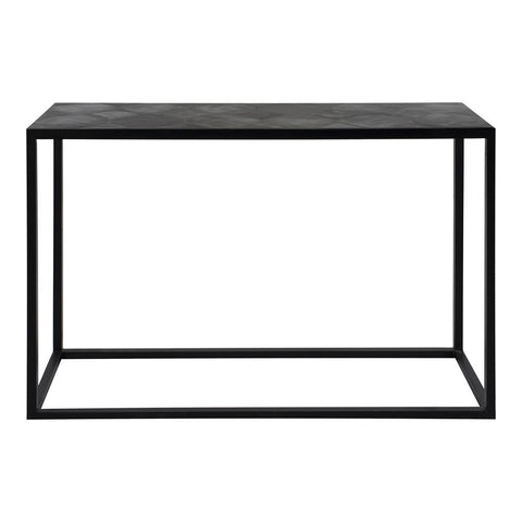 Moes Home Tyle Console Table in Black