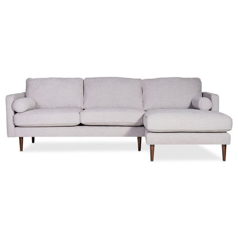 Moes Home Unwind Sectional Fog Left