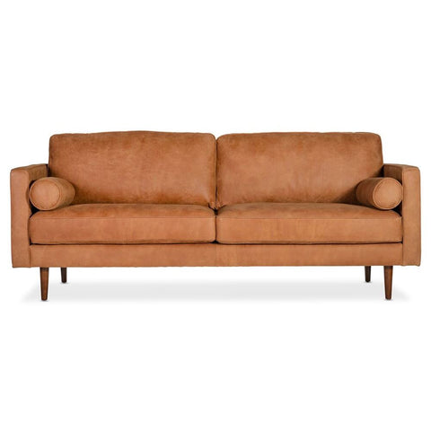 Moes Home Unwind Sofa Gingersnap