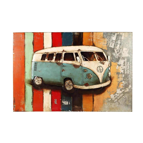 Moes Home Vintage Westfalia Wall Decor