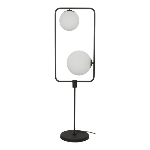 Moes Home Whistler Floor Lamp in Black