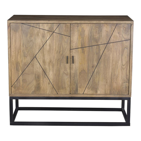 Moes Home Xerra Small Sideboard in Grey