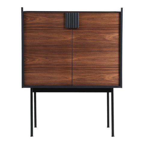 Moes Home Yasmin Bar Cabinet in Brown