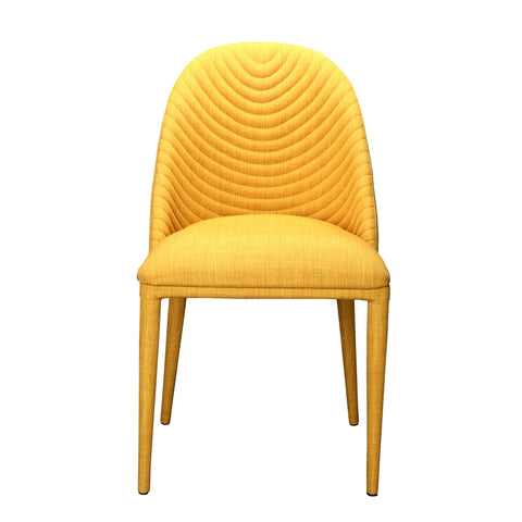 Moes Libby Dining Chair In Yellow