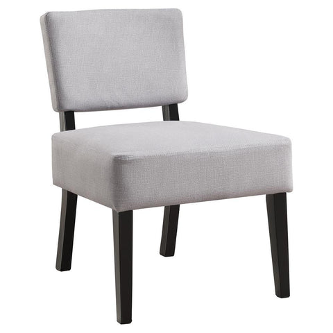 Monarch I 8276 Accent Chair - Light Grey Fabric