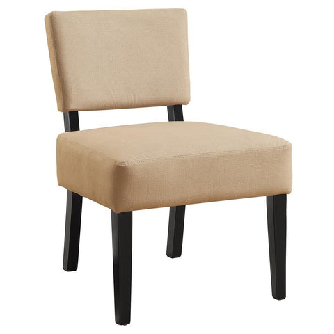Monarch I 8277 Accent Chair - Beige Fabric