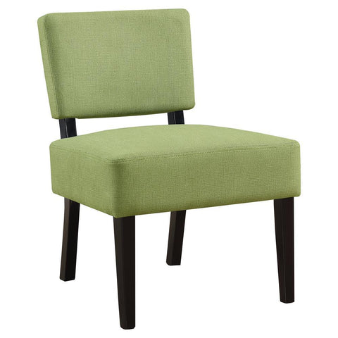 Monarch I 8281 Accent Chair - Lime Green Fabric