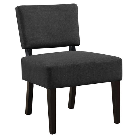 Monarch I 8283 Accent Chair - Dark Grey Fabric