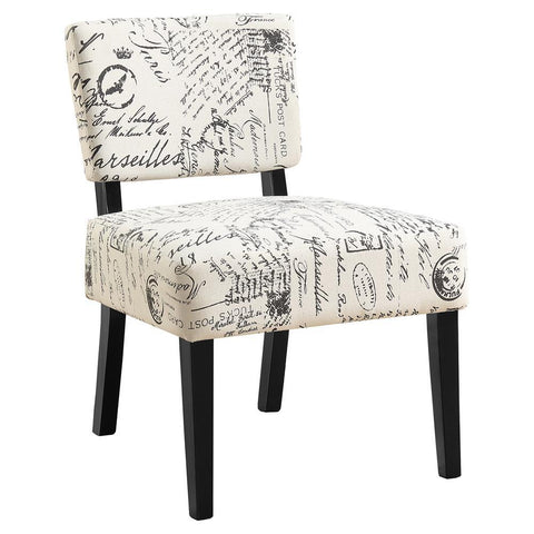 Monarch I 8286 Accent Chair - Vintage French Fabric