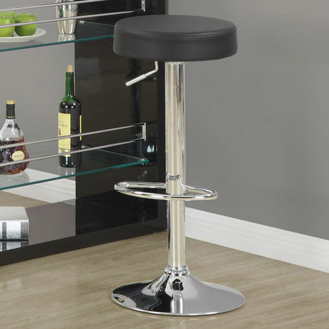 Fantastic Monarch Specialties 2369 Hydraulic Lift Barstool In Black Chrome Camellatalisay Diy Chair Ideas Camellatalisaycom