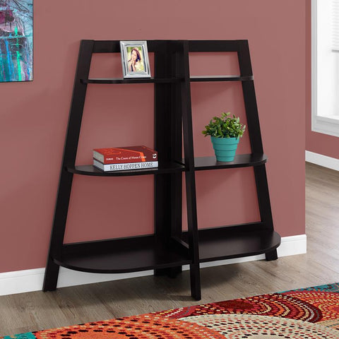Monarch Specialties 2426 48 Inch Cappuccino Accent Etagere