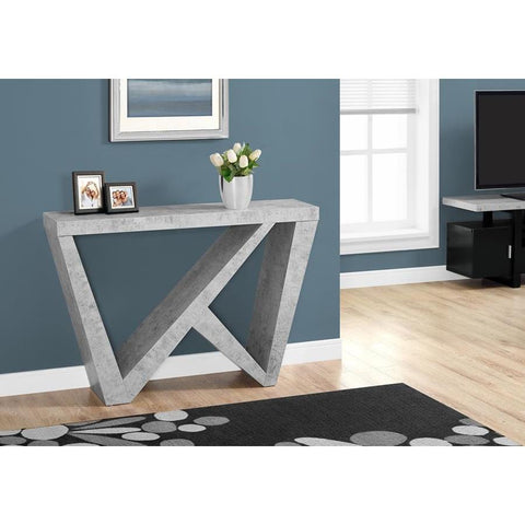Monarch Specialties 2436 Accent Table in Grey