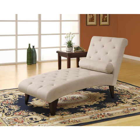 Monarch Specialties I 8032 Chaise Lounger