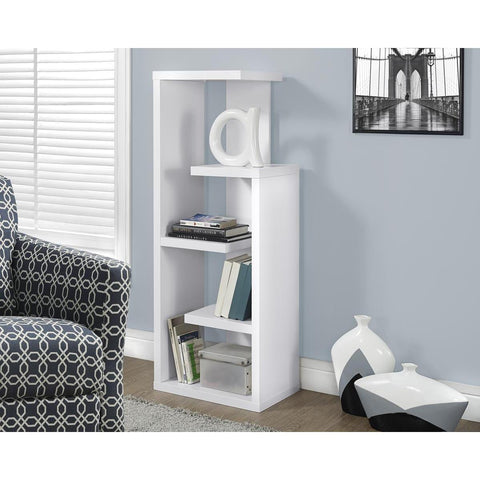 Monarch Specialties White Accent Display Unit I 2466
