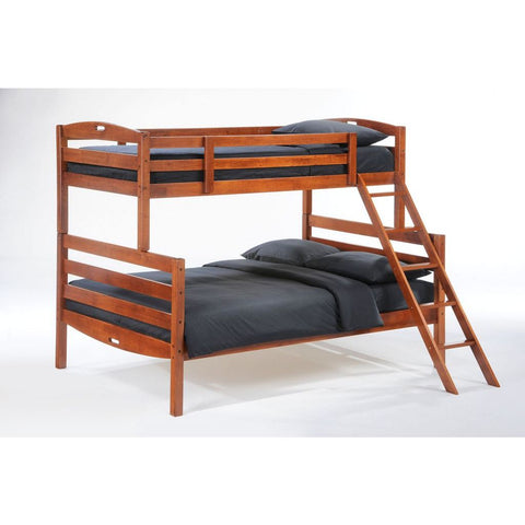 Night and Day Zest Sesame Twin / Full Bunk Bed