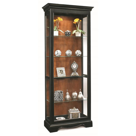 Philip Reinisch Color Time Ambience Display Cabinet In Pirate Black