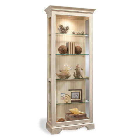 Philip Reinisch Color Time Ambience Display Cabinet In Sandshell White