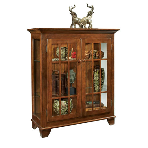Philip Reinisch Color Time Barlow Display Console In Chestnut