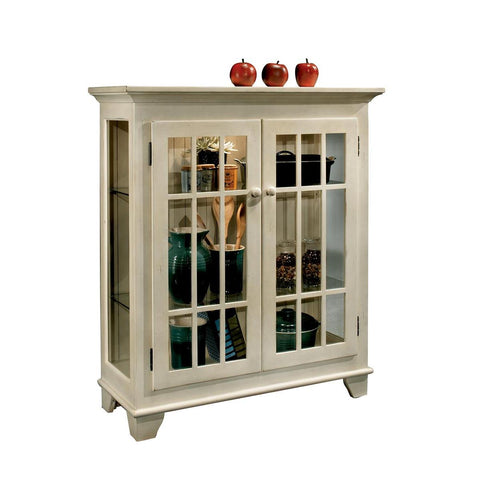 Philip Reinisch Color Time Barlow Display Console In Sandshell White