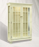 Philip Reinisch Color Time Monterey Two-Door Display Cabinet In Sandshell White