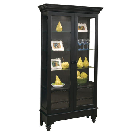 Philip Reinisch Color Time Summerville Display Cabinet In Pirate Black