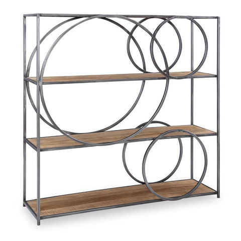 Powell Adler Circle Bookcase