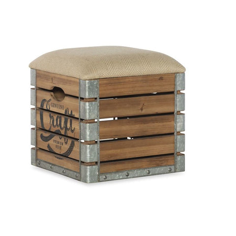 Powell Adria Storage Crate in Natural