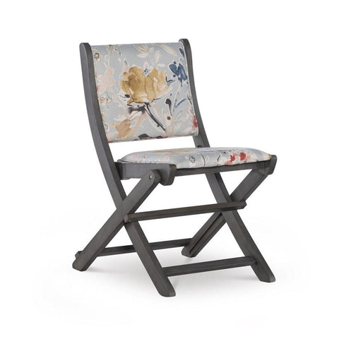 Powell Amberley Folding Chair Grey Floral