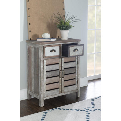 Powell Barrett 2 Door 2 Drawer Console