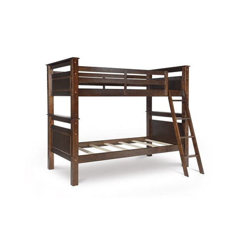 Powell Beckett Twin over Twin Bunk Bed in Espresso