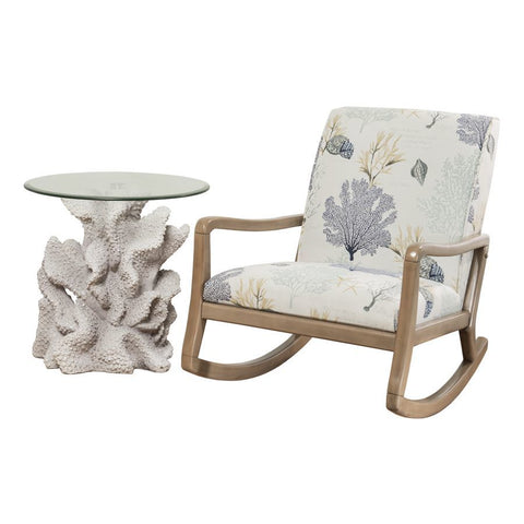 Powell Belize Accent Chair in Natural