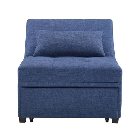 Powell Boone Sofa Bed in Blue