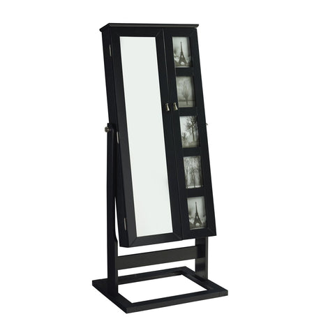 Powell Cheval Photo Armoire in Black