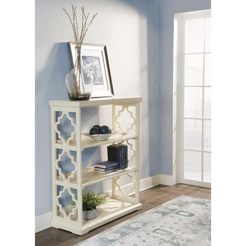Powell Conrad Medium Bookcase White