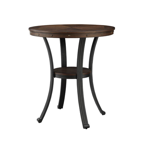 Powell Franklin Pub Table in Metal & Wood
