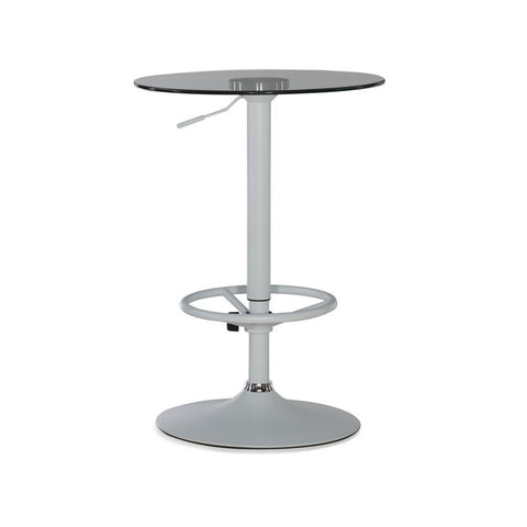 Powell Jenna Pub Table White